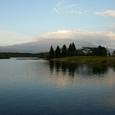 田貫湖から見る富士山